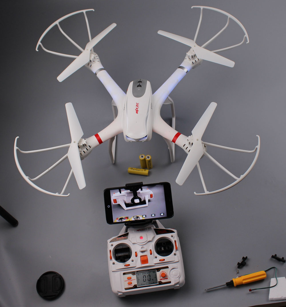 Profession Drones MJX X101 Quadcopter 2 4G 6 Axis RC Helicopter with gimbal Drone with C4005