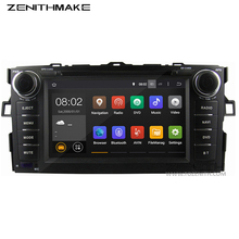 Free shipping Quad Core HD android 2 din car dvd for Toyota Auris hatchback car radio gps toyota Wifi car stereo 2din dvd(Hong Kong)