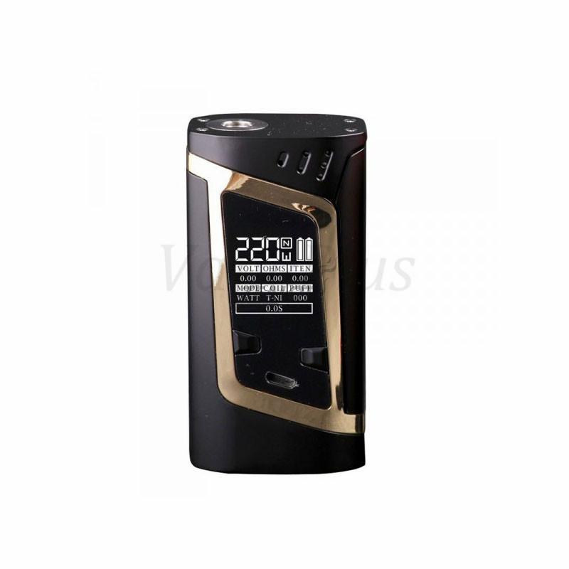 ถูก ต้นฉบับSmokคนต่างด้าวชุด220วัตต์vapeสมัยกับ3มิลลิลิตรTFV8เด็กถังฉีดน้ำบุหรี่อิเล็กทรอนิกส์vapeชุดvs Xcubeอัลตร้าVaporizer