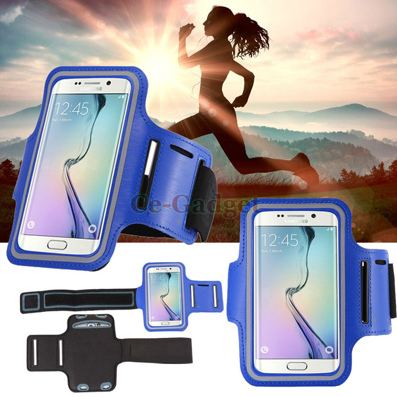 Sport Arm Band Run Case For Samsung Galaxy Beam 2 G3858/ S6 Active Gym Waterproof Exercise Cover PU Leather Phone Cover+Key Slot(China (Mainland))