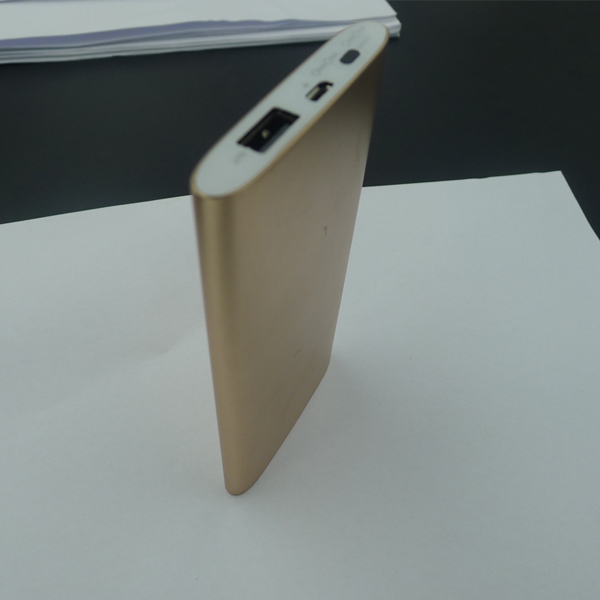 Real capacity 6000Mah Slim powerbank mobile External Battery portable charger polymer for iphone(China (Mainland))