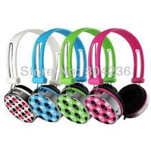 Skull Pattern Boys Girls Kids Children Teens Over Head DJ Styles Headphones Headsets for iPod iPad Computer MP3 PSP