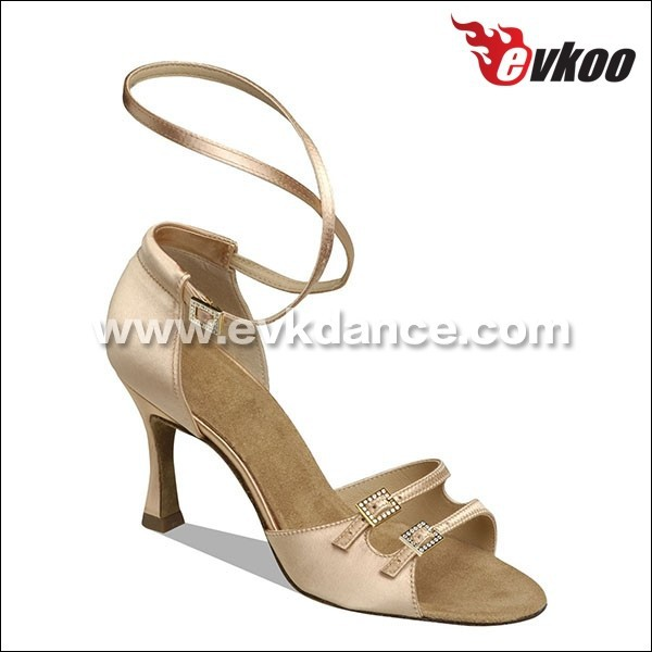 8.3 cm heel latin zapatos de salsa satin leather sole dance shoes for ladies dancing salsa ballroom dance shoes LLE00099<br><br>Aliexpress