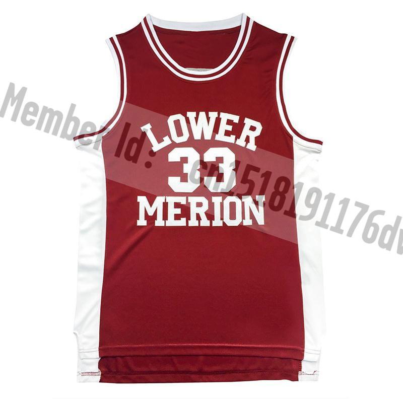 Kobe Bryant #33 basketball jersey,Bryant Merion high school jerseys,best-selling jerseys wholesale,free shipping,embroidery logo(China (Mainland))