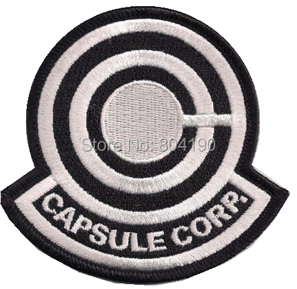 Capsule Corps Patch 3.5 Dragonball z Capsule Corp