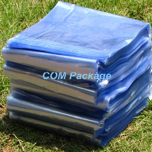 DHL 15*25cm 1000Pcs/Lot Clear PVC Heat Shrink Bag Film Wrap Heat Seal Storage Bag Pouch Plastic Gift Cosmetic Packaging Polybag(China (Mainland))