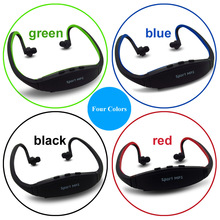 Sport Wireless MP3 Player Headphone Support Micro SD/TF Card with FM Radio Function Running MP3 Music Headset Earphone