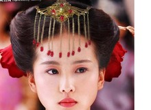 Hanfu Bride Wedding Hair Jewelry Forehead Hair Accessory also use as Necklace Many Designs
