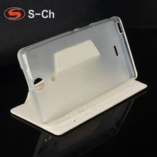 Buy Folding Cover Sony Xperia SP M35h C5302 C5303 C5306 Business Original Flip Case Ultra Soft Card Slots for $1.33 in AliExpress store