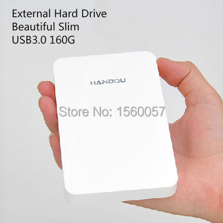 Good price Free shipping 2.5 Slim Original USB3.0 160GB External Hard Drive Storage  Mobile Portable HDD Disk Plug and Play<br><br>Aliexpress