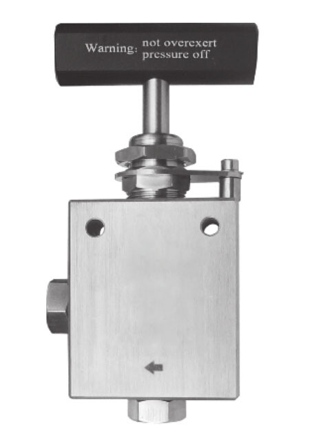 Hot Model : HS22132 3/8'' connection 22,000 PSI Or 1500 Bar high pressure manual needle valve made from stainless(China (Mainland))