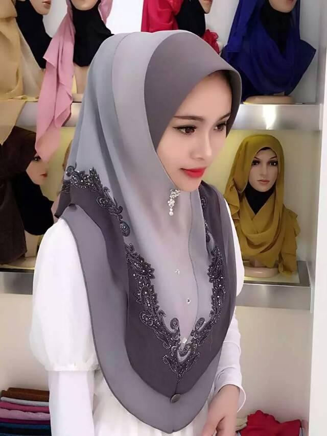 10pcs/bag 2015 Muslim Hijab Fashion scarf elegant Malaysia Arab Hijab(China (Mainland))