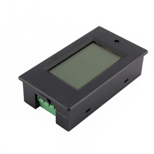 DC 20A LCD Combo meter Voltage current KWh watt Car battery pannel power monitor(China (Mainland))