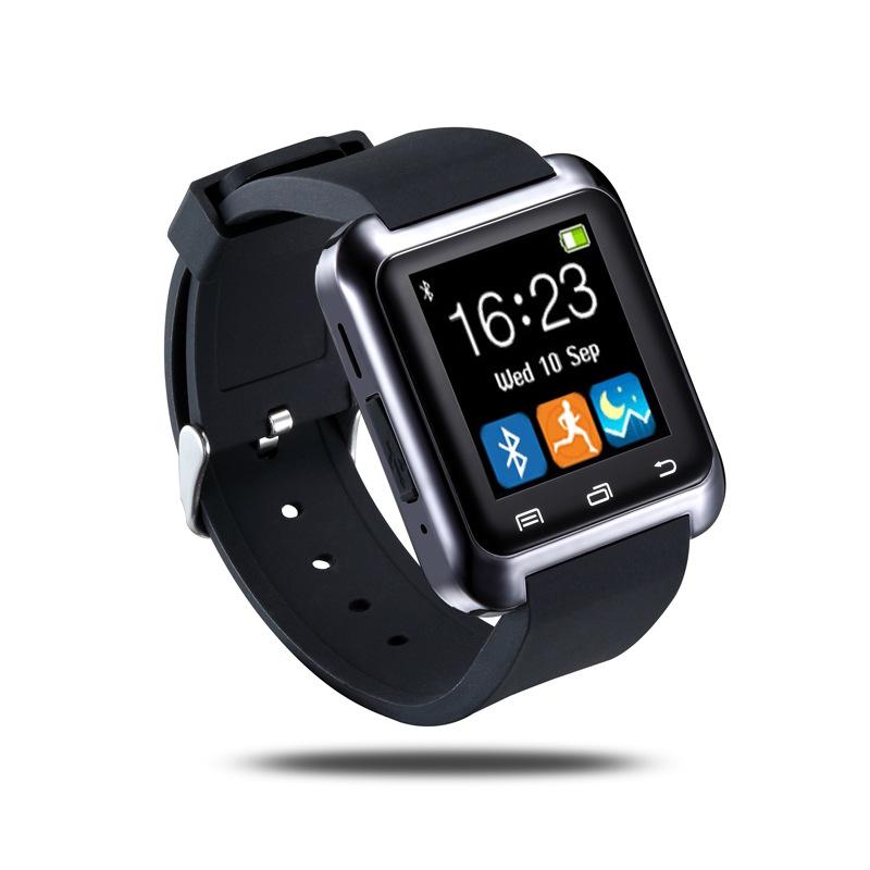 Bluetooth Smart U80 Watch BT-notification Anti-Lost MTK WristWatch Android ios phone