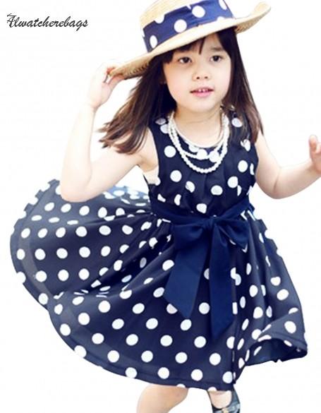 2015 new kids children clothing girls sleeveless dress