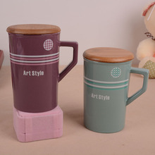 straight barrel dark coffee cup, romantic couple cups, breakfast cup, milk cup, gifts
