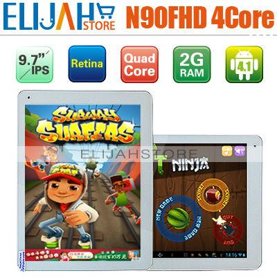 Original Yuandao Vido N90FHD 9.7'' Retina IPS A31 Quad Core Tablet PC 2GB/16GB Android 4.1 2GB 16GB GPU 5.0MP Camera HDMI(China (Mainland))