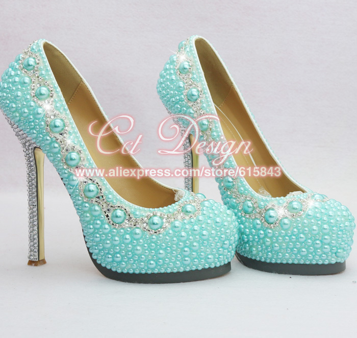Gallery For > Light Blue High Heels With Diamonds