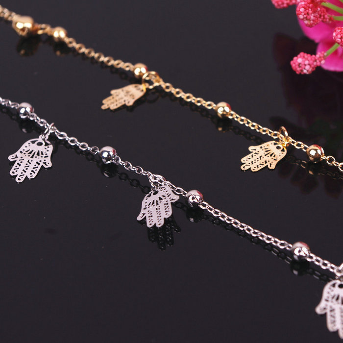 1pcs Gold Silver Colour Finger Citron Chain Anklet Bracelet Ankle Foot Jewelry Barefoot Beach Anklet(China (Mainland))