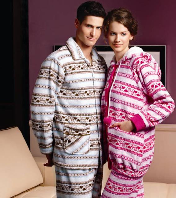 Autumn and winter male sleep set coral fleece sleepwear lounge pajama pants male comfort set