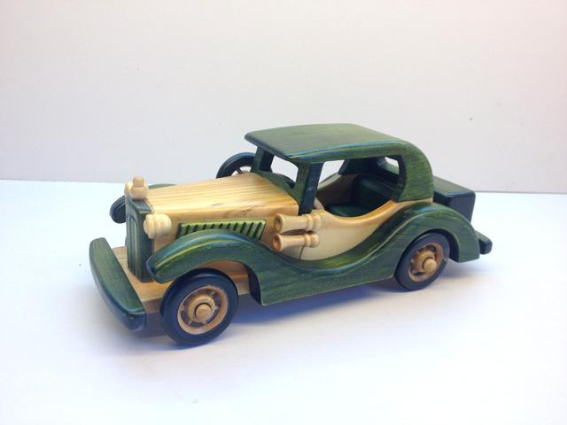 Wood handmade classic cars model car furniture decoration(China (Mainland))