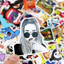 Buy 312 Pcs Different Fashion Design Mixed Stickers Waterproof Home DIY Decor Toy Styling Skateboard Laptop Luggage JDM Toy Gift for $14.78 in AliExpress store