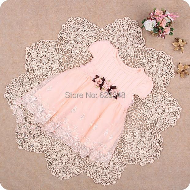 Retail-Brand IDEA Summer lace cute baby dress,Party Wedding Birthday baby girls dresses,princess infant dress TUTU baby clothing(China (Mainland))