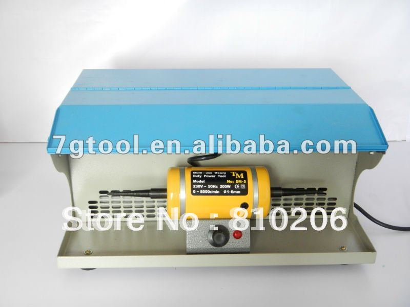 Polishing Machine with Dust Collector,A Strong Suction Unit And Two Spindles(China (Mainland))