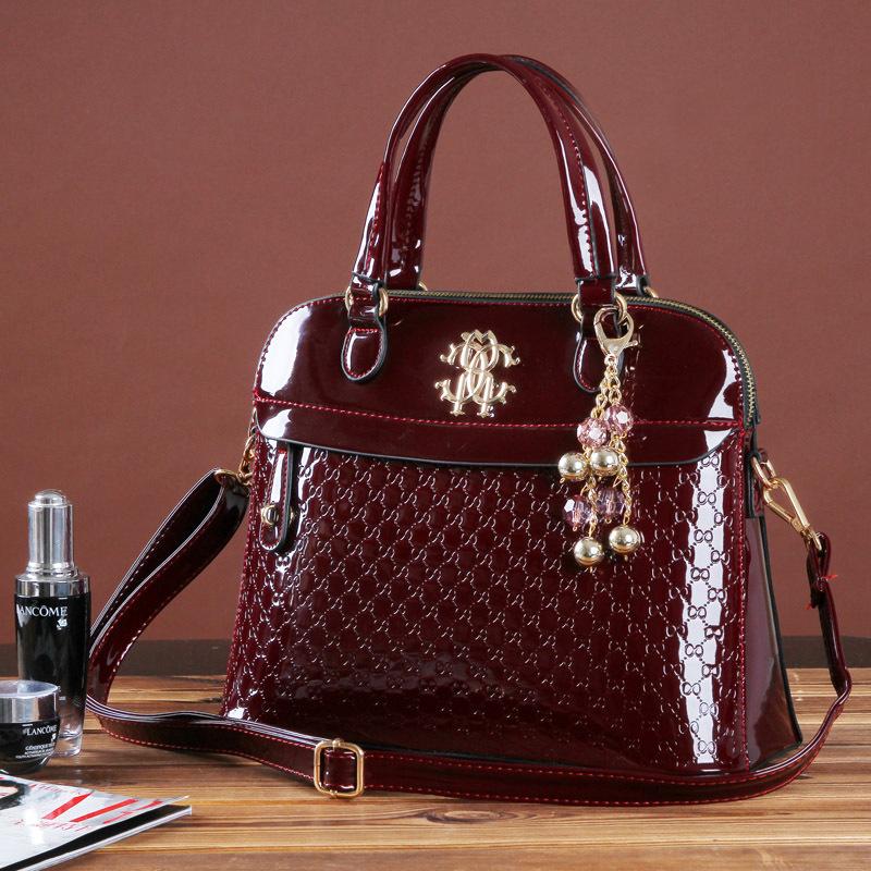 product New Women Handbag Genuine patent Leather Crossbody bag Handbags Brand Tote Women Messenger Bag clutch Shoulder bag Ladies Bolsas