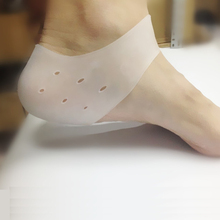 2Pcs Delicate Silicone Moisturizing Gel Heel Socks Like Cracked Foot Skin Care Protector Feet Massager Foot Pain Relief C127