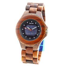Nueva! Solar de madera del reloj BEWELL con caja de regalo cuarzo casual relojes para hombre famoso reloj de la marca mejor regalo reloj de pulsera de China