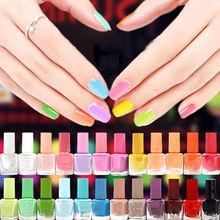 Hot Sale Candy Color 42 Colors Choose Gel UV Nail Polish Quick Dry Nail Art Polish Scent Nail Lacquer(China (Mainland))