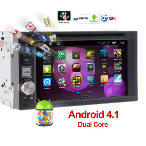 """Android 4.2 6.2"""" Car Stereo DVD Player Radio built-in GPS Sat Navi capacitive touchscreen Car Radio player +3G /WIFI +IPOD+ BT(China (Mainland))"""