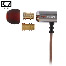 KZ ED9 Metal Boquillas In-ear auriculares con el micrófono(China (Mainland))
