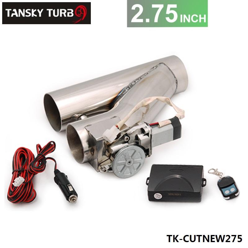"Здесь можно купить  Tansky - 2.75"" Exhaust Downpipe Testpipe Catback E Electric Cutout kit Switch Control+Remote TK-CUTNEW275  Автомобили и Мотоциклы"