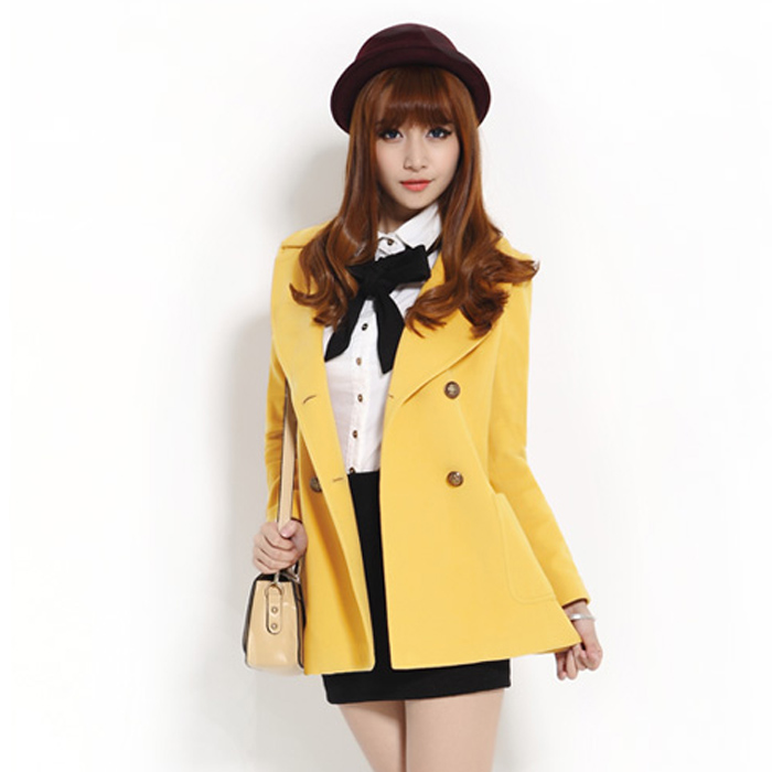 Casaco Full Coats Time limited 2015 Spring New Korean Plus ...