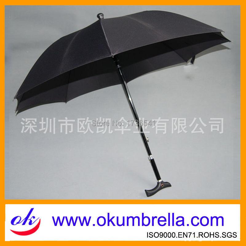 Factory-made old cane umbrella straight bone automatic retractable umbrella umbrella dedicated elderly(China (Mainland))