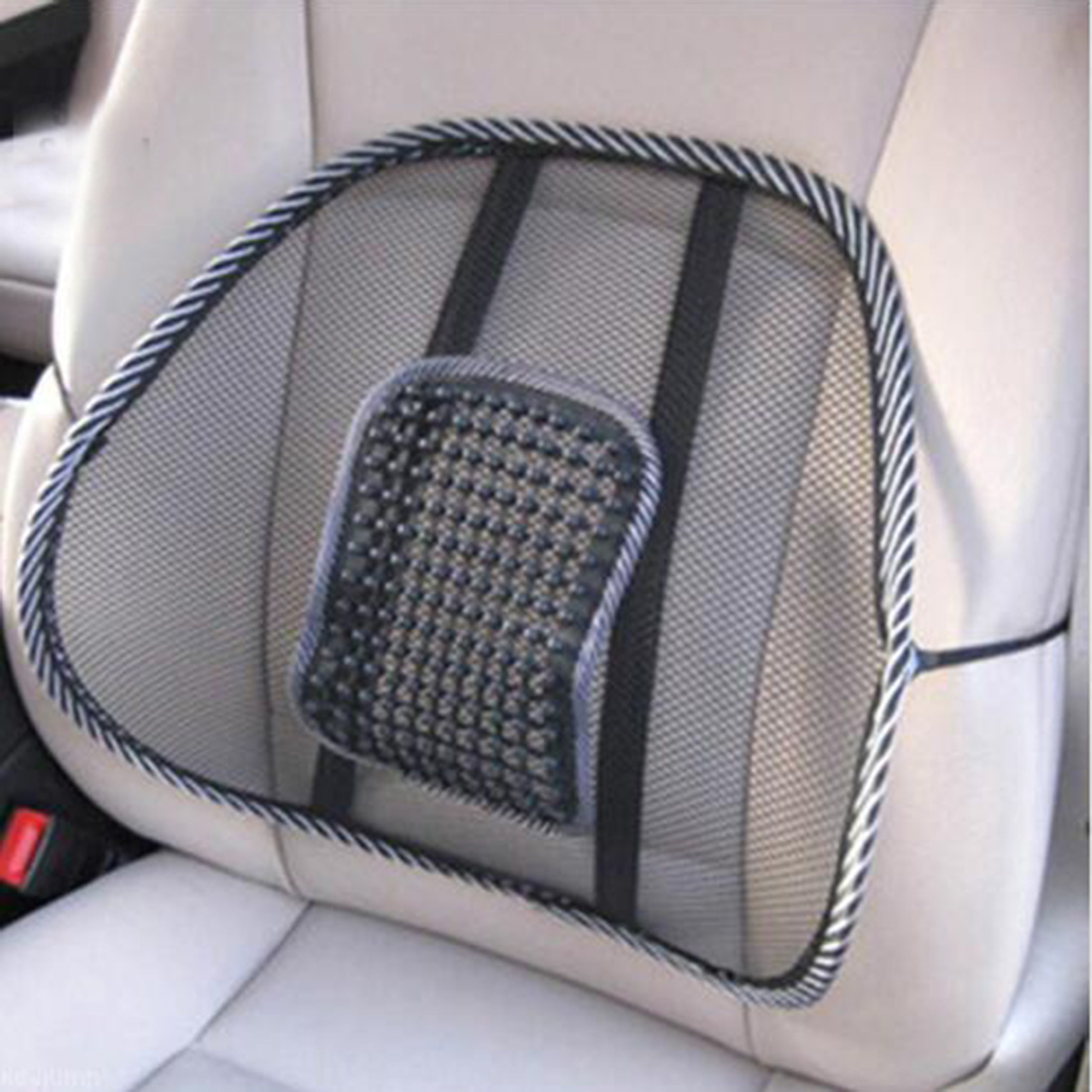 New Sale Fashion New Mesh Lumbar Back Brace Support Office Home Car Seat Chair Cushion Cool Free Shipping(China (Mainland))