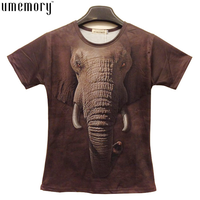 20 Animals Design For Choose Unisex Leopard Lion Funny 3D Printed T-Shirts Tiger Mouse Cat Dog Wolf Snake Pig Elephant T Shirt(China (Mainland))