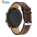 Excellent Quality Replacement Leather Bracelet Watch Strap Band ForSamsung Gear S3 Frontier Dec 01 New D125