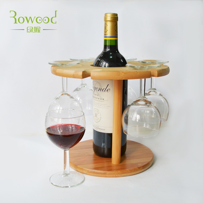Popular countertop wine racks buy cheap countertop wine for Decorative wine glasses cheap