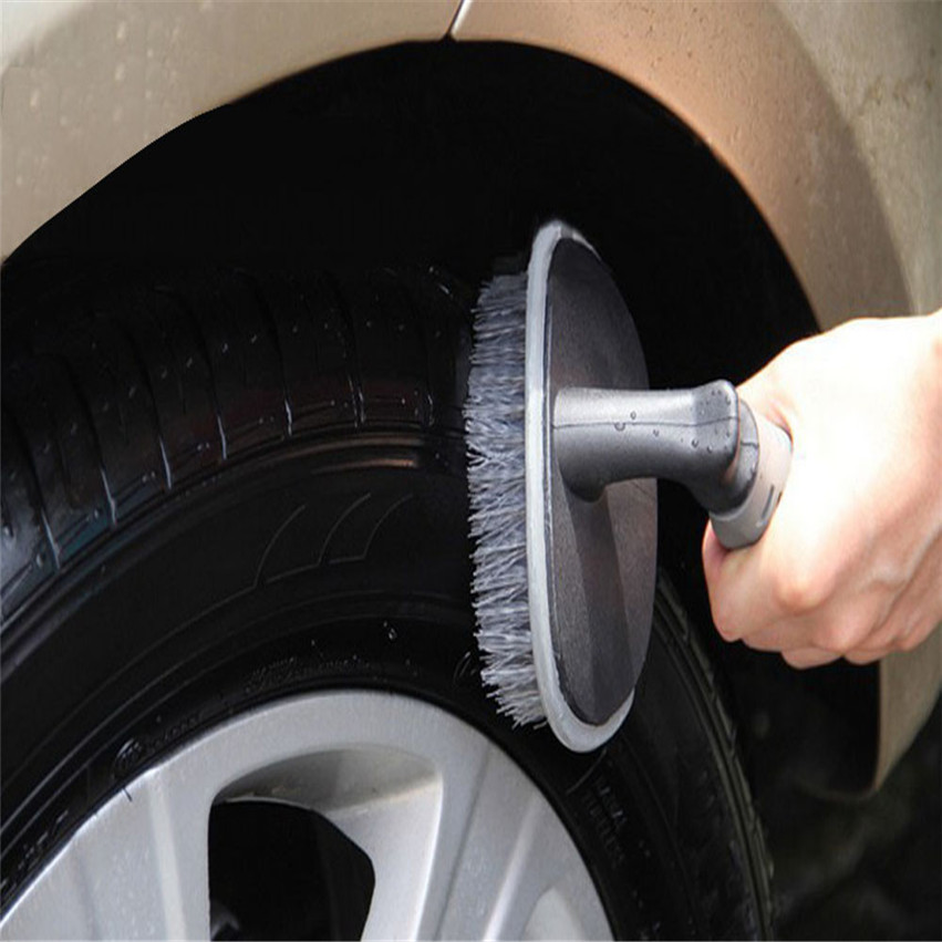 Vehicle Car-styling Motorcycle Wheel Tire Rim Scrub Car Brush Washing Cleaner Cleaning Tool(China (Mainland))