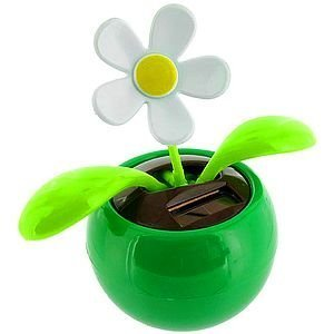 Solar Dancing Flower - Sunflower Great as Gift or Decoration Green Color(China (Mainland))