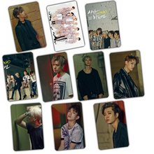 Kpop GOT7 FLY 2016 new Album 2016 fly crystal sticker set 10 k-pop got 7 Photos Cards Postcard Poster LOMO PhotoCard gift poster(China)