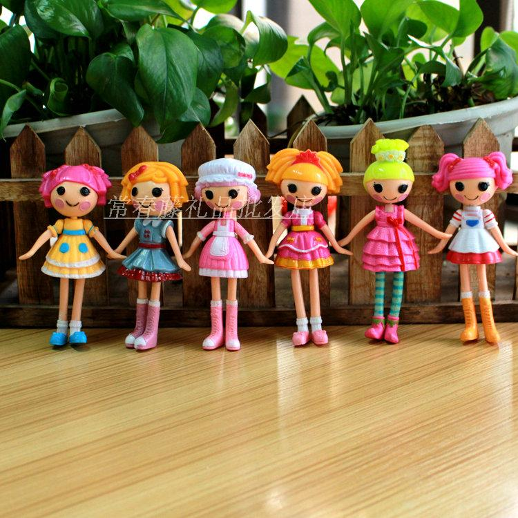 Free Shipping Best Toys For Girls Bigger One 13CM 6pcs/Set  MGA Lalaloopsy Action Figures Lalaloopsy Doll For Kids Children<br><br>Aliexpress