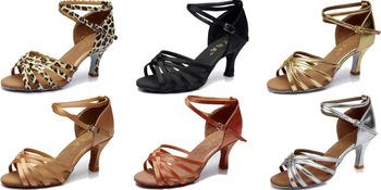 Бесплатная Доставка и Большие Скидки и Купоны!!!/Для Акция!!/2016 Тенденции Новый латинский Танец Обувь для Женщин/Девушки/6 Цветов