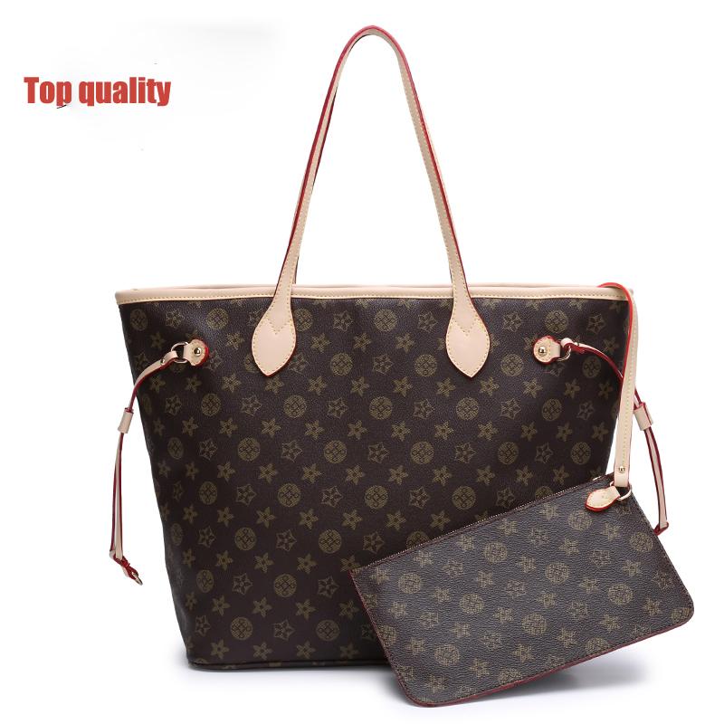 High quality classic handbag Monogram Canvas Neverfull MM Tote Bag MM M40995 N41361 N41358(China (Mainland))