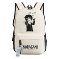 Noragami ARAGOTO Cosplay Backpack Anime YATO oxford Schoolbags Fashion Unisex Travel Laptop Bag
