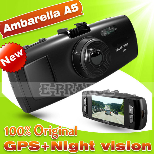 E-prance Ambarella A5S30 GS6000 Car Dvr Camera+  GPS Loggerand+  Super Night Vision+ Full HD 1080P 30FPS