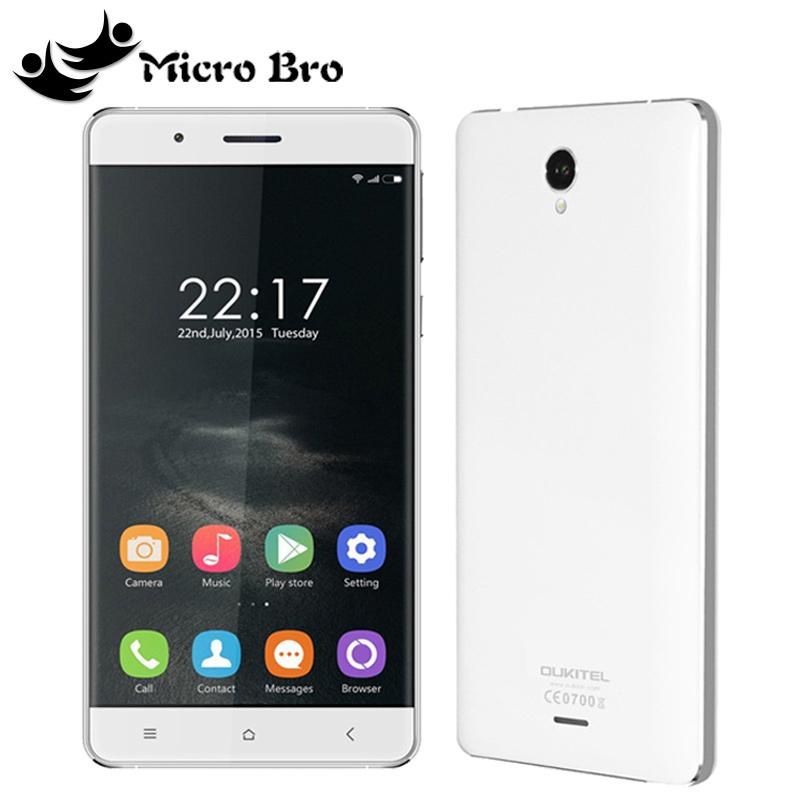 Оригинал Oukitel K4000 сети 4G LTE мобильных телефона MTK6735 четырехъядерный Android 5.1 5.0